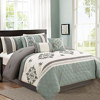 Alex 7 pc Bed Set