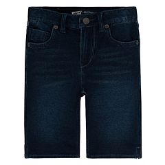 Girls 4-6x Levi's Faux-Denim Knit Bermuda Shorts