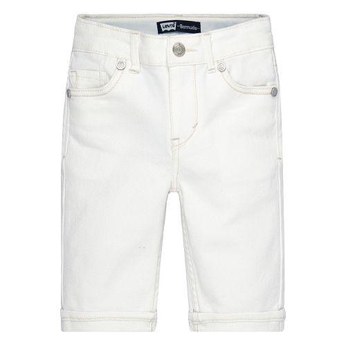 Girls 4-6x Levi's Stretch Denim Bermuda Shorts