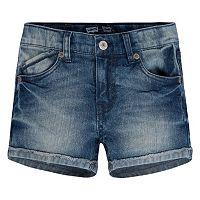 Girls 4-6x Levi's Stretch Denim Shorts