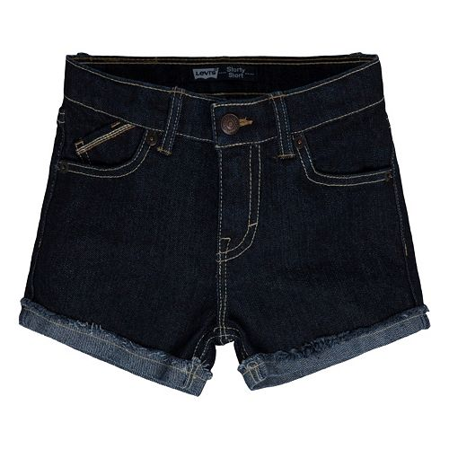 Girls 4-6x Levi's Stretch Denim Shorts