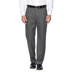 Big & Tall Croft & Barrow® Stretch Classic-Fit True Comfort Pleated Suit Pants