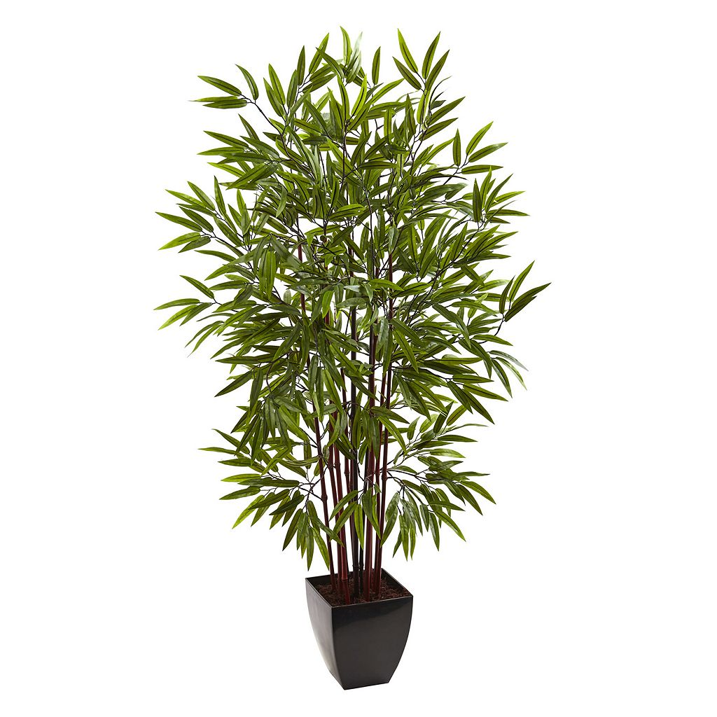 nearly natural 5-foot Bamboo Silk Tree