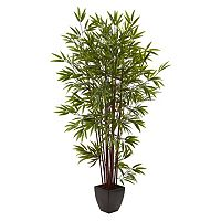 nearly natural 6-foot Bamboo Silk Tree