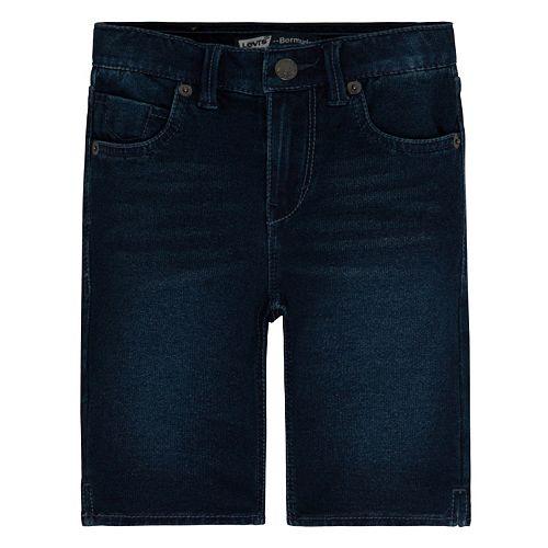 Toddler Girl Levi's Jean Bermuda Shorts