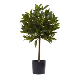 nearly natural Artificial Sweet Bay Topiary