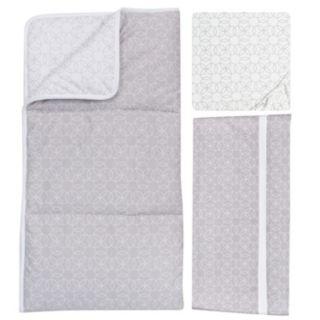 Trend Lab Circles Gray 3-pc. Crib Bedding set