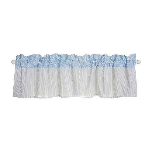 Trend Lab Blue Taffy Window Valance