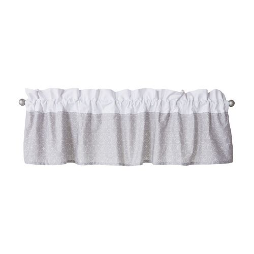 Trend Lab Circles Gray Window Valance