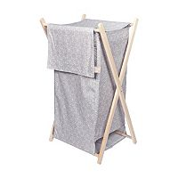 Trend Lab Circles Gray Hamper