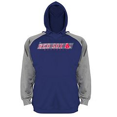 Big & Tall Majestic Boston Red Sox Raglan Hoodie