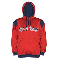 Big & Tall Majestic Boston Red Sox Quarter-Zip Hoodie