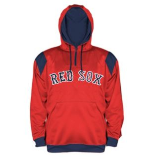 Big & Tall Majestic Boston Red Sox Quarter-Zip Hoodie