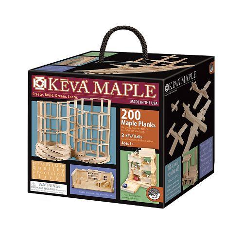 KEVA Maple 200-Piece Plank Set by MindWare