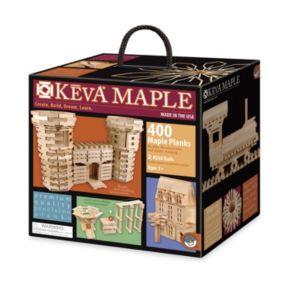 KEVA Maple 400-Piece Plank Set by MindWare