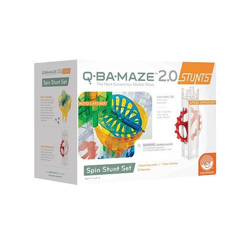 Q-BA-MAZE 2.0 Spin Stunt Set by MindWare