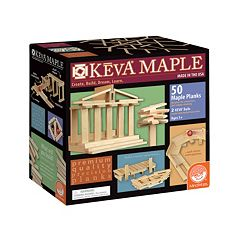 KEVA Maple 50-Piece Plank Set by MindWare