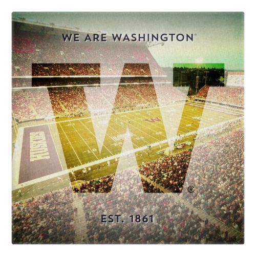 Washington Huskies Stadium Canvas Wall Art