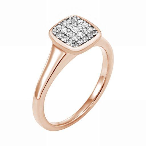 LOVE 360 10k Gold 1/4 Carat T.W. Diamond Wedding Ring