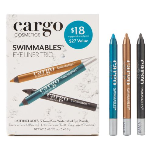 CARGO Swimmables Mini Eyeliner Trio Gift Set