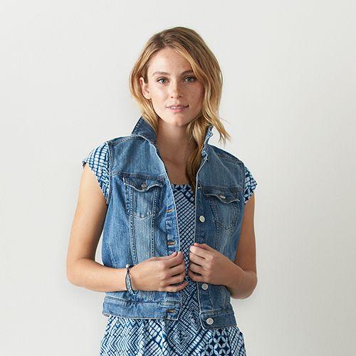 Women's SONOMA Goods for Life™ Jean Vest
