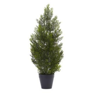 nearly natural 2-ft. Indoor / Outdoor Mini Artificial Cedar Tree