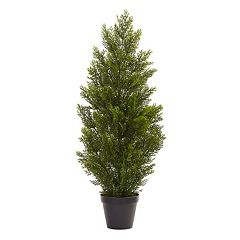 nearly natural 3-ft. Indoor / Outdoor Mini Artificial Cedar Tree