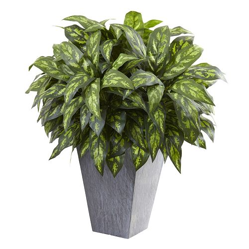 nearly natural Artificial Silver King Plant