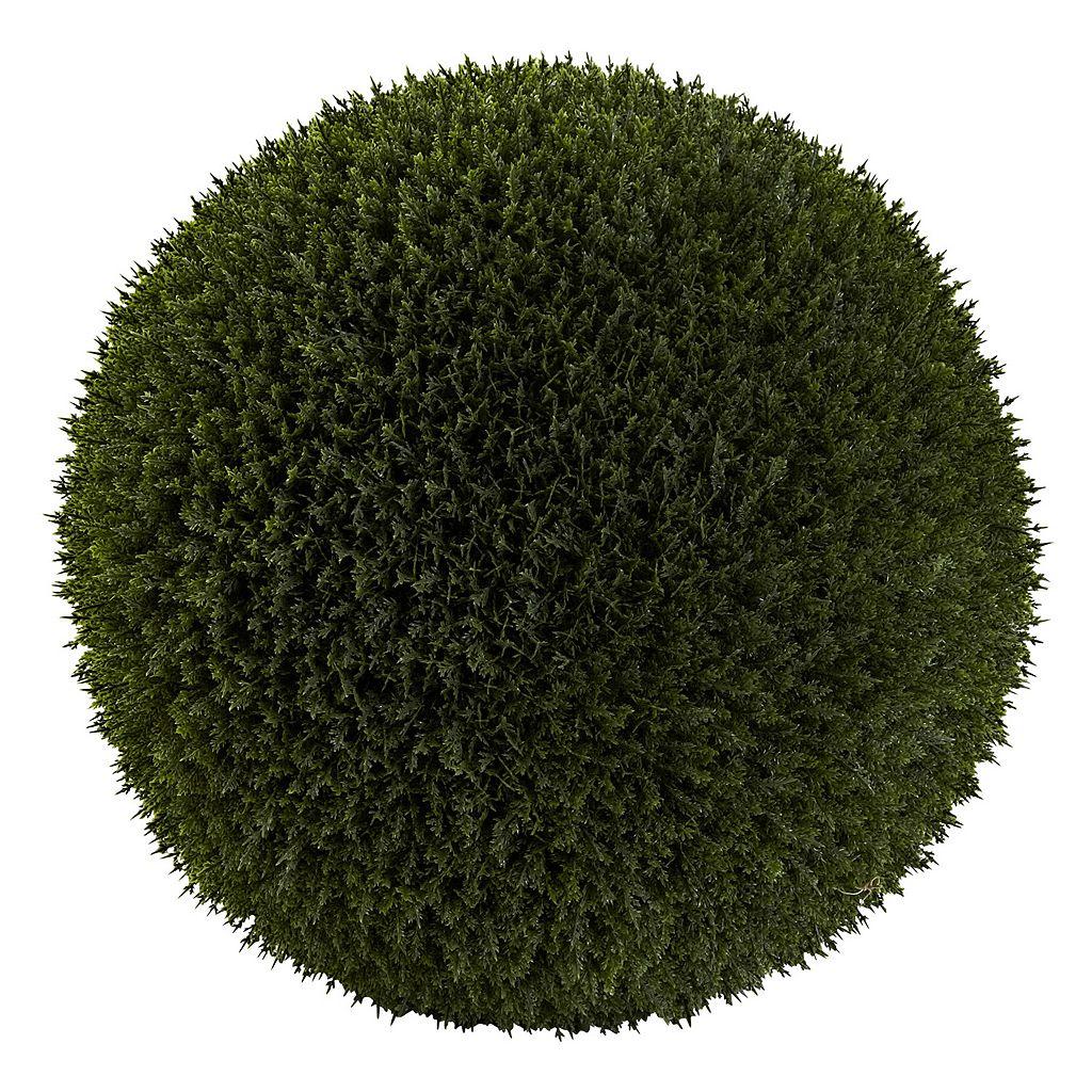 nearly natural Artificial Indoor / Outdoor Cedar Ball