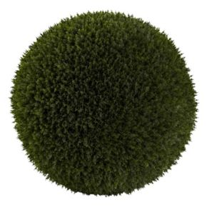 nearly natural Artificial Indoor / Outdoor Cedar Ball