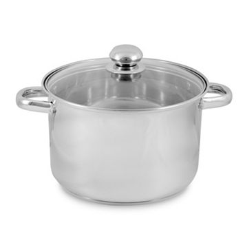 PureLife 8-qt. Stainless Steel Stockpot