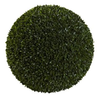 nearly natural Artificial Indoor / Outdoor Boxwood Ball