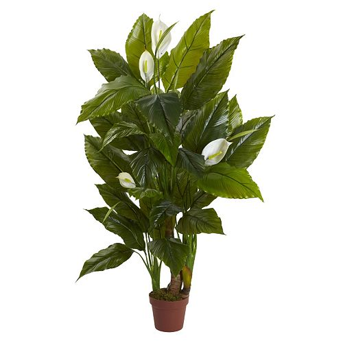 nearly natural Artificial Spathyfillum Plant