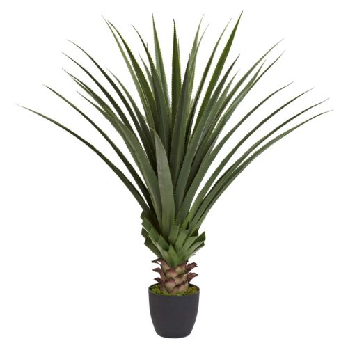 nearly natural Artificial Spiked Agave Plant