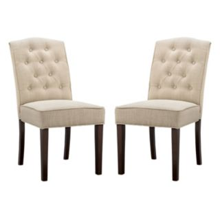 Madison Park Misha Dining Chair 2-piece Set