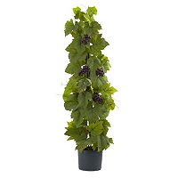 nearly natural Artificial Grape Leaf Delux Climbing Plant