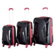 Chariot Antonio 3-Piece Hardside Spinner Luggage