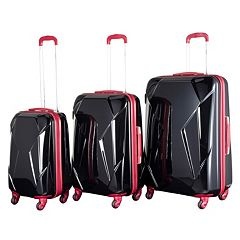 Chariot Antonio 3 pc Hardside Spinner Luggage