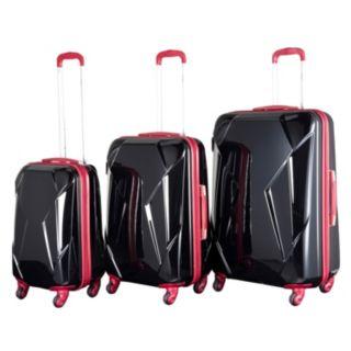 Chariot Antonio 3-Piece Hardside Spinner Luggage