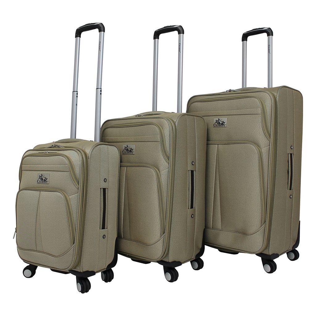 Chariot Taranto 3-Piece Spinner Luggage