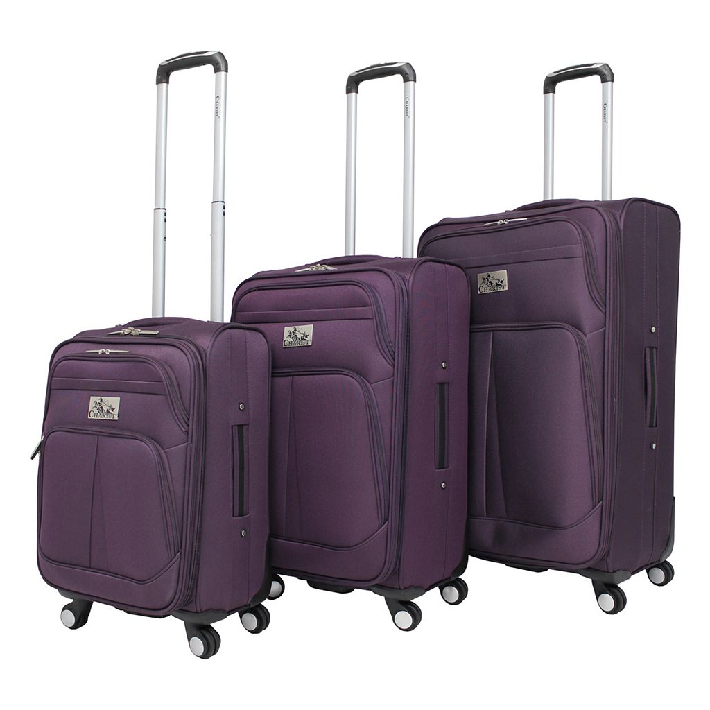 Chariot Taranto 3-Piece Spinner Luggage