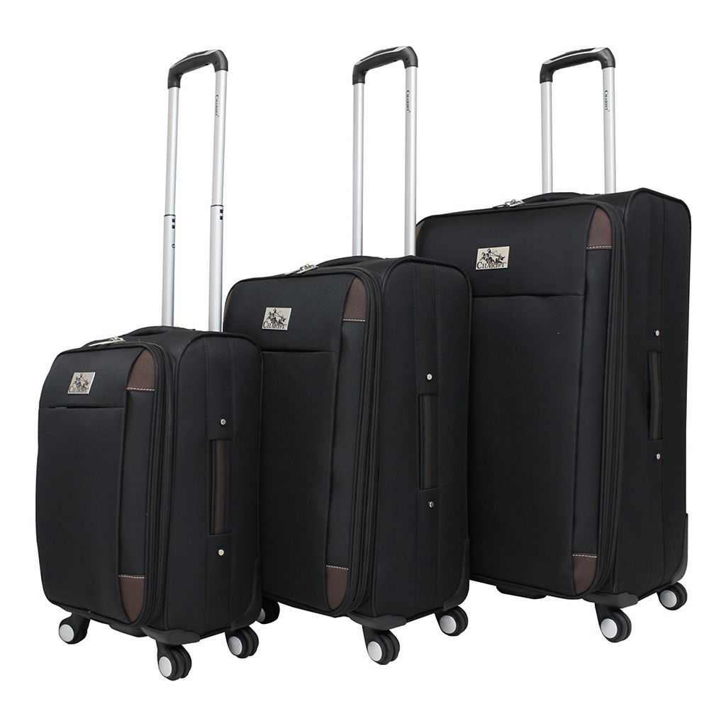 Chariot Millan 3-Piece Spinner Luggage