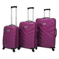 Chariot Veneto 3 pc Hardside Spinner Luggage