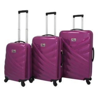 Chariot Veneto 3-Piece Hardside Spinner Luggage