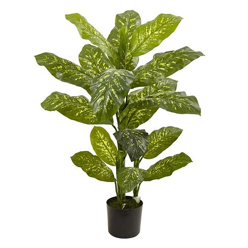 nearly natural Artificial Dieffenbachia Plant