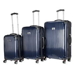 Chariot Paola 3-Piece Hardside Spinner Luggage