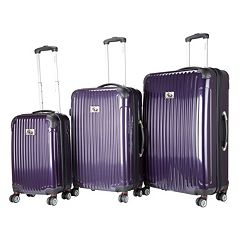 Chariot Paola 3 pc Hardside Spinner Luggage