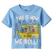 Toddler Boy Sesame Street Puff-Print Tee