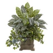 nearly natural Artificial Silver Queen Plant