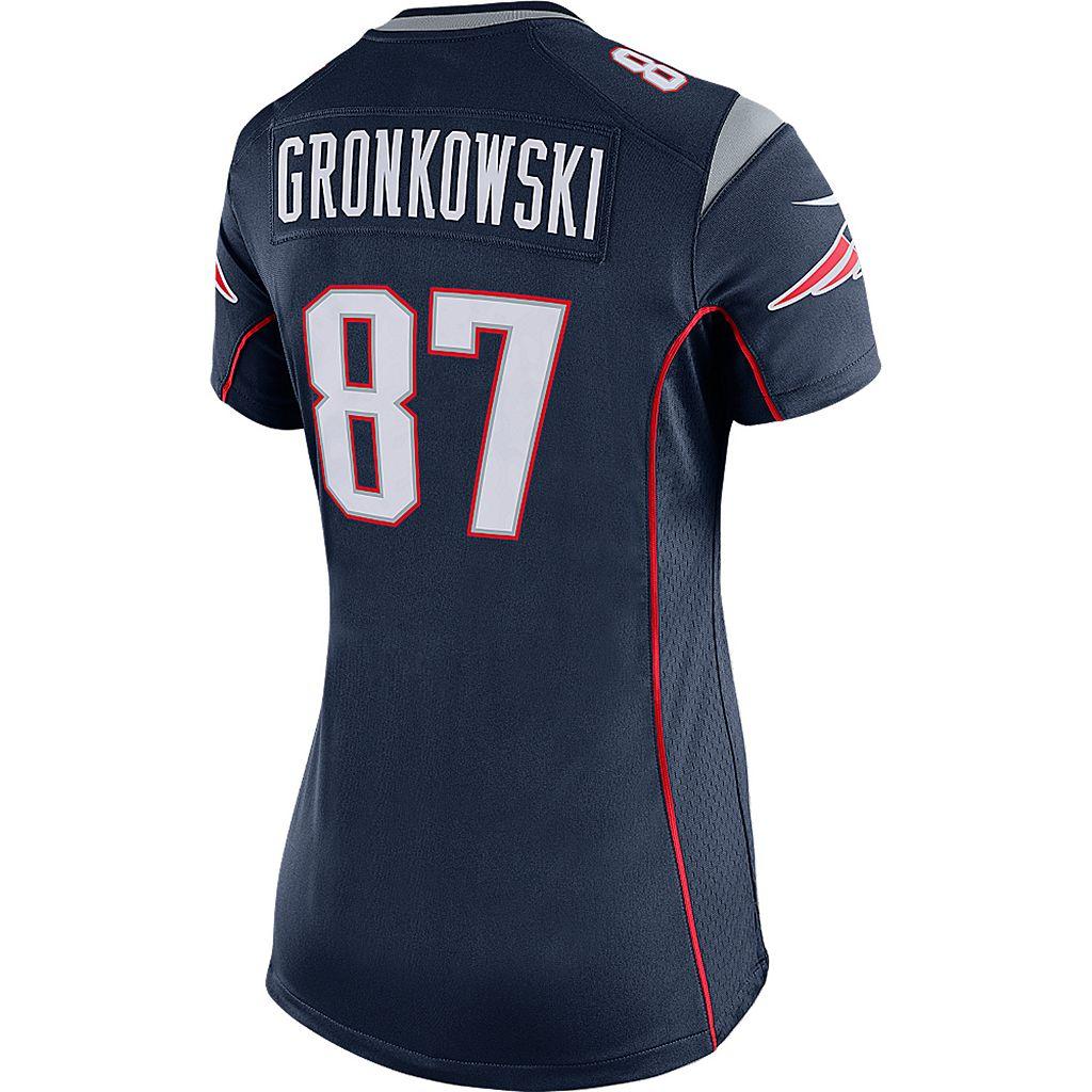 Womens Nike New EnglandPatriots Rob Gronkowski Jersey